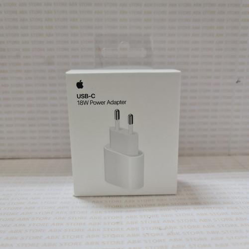 Foto Produk Adapter USB C Kepala Charger 18W Apple Iphone X XS Max 11 Pro Original dari ABK STORE