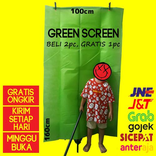 Jual Green screen kain background hijau Murah Baru ...