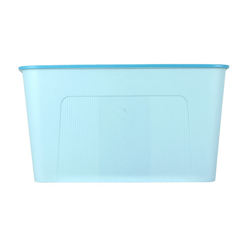 Foto Produk MINISO Kotak Penyimpanan Storage Box Baju Multifungsi Ukuran Besar - Biru Muda dari Miniso Indonesia