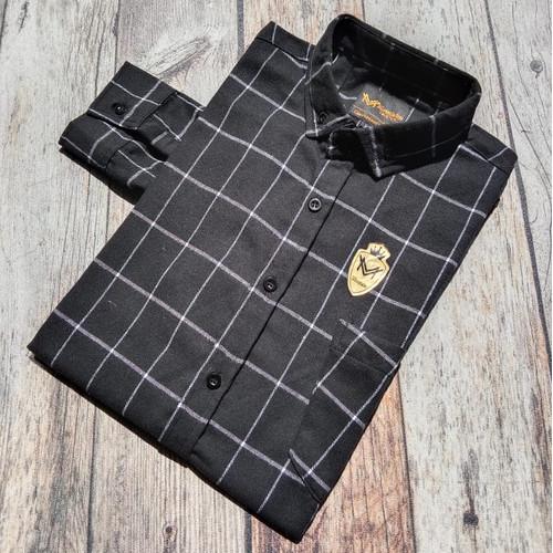 Foto Produk Kemeja Flanel Cowok Lengan Panjang Kotak kotak Levis | Baju Flannel - L dari ALJOSA