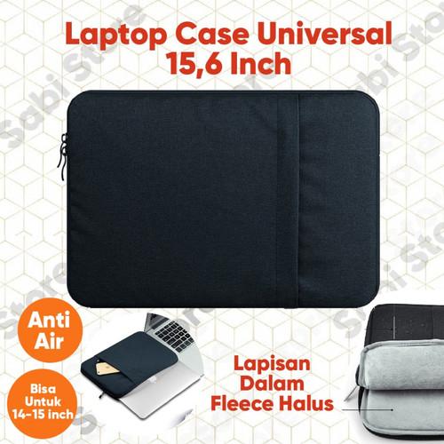 Foto Produk Kazerwa Softcase Tas Laptop Sleeve Case 15.6 Inci - Hitam dari Sabi Online Store