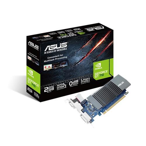 Foto Produk VGA ASUS GT 710 2GB DDR5 SILENT VGA CARD NVIDIA GeForce GT710 ASUS dari PojokITcom Pusat IT Comp
