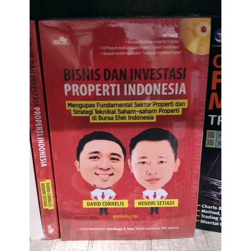 Foto Produk BISNIS DAN INVESTASI PROPERTI INDONESIA dari Anelinda Buku Koleksi