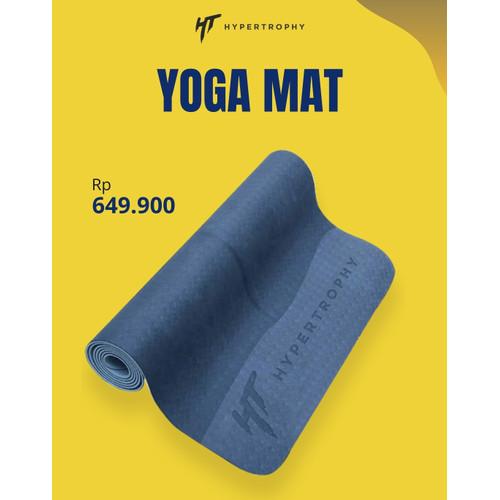 Foto Produk Rubber Yoga Mat Karpet Matras Pilates Olahraga Natural Eco Friendly dari Hypertrophy