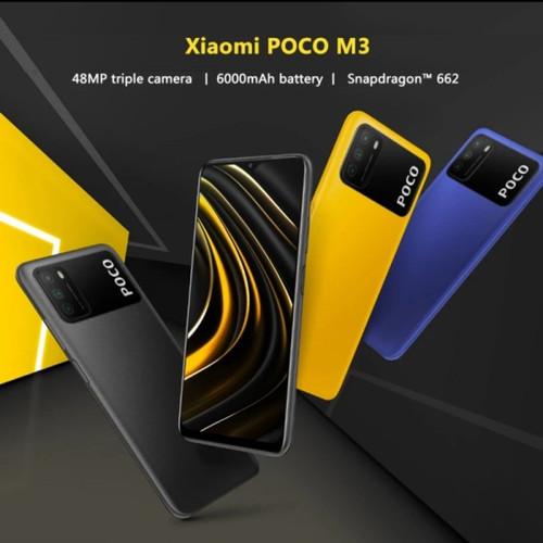 Jual Xiaomi POCO M3 4GB 64GB Garansi Resmi - Jakarta Barat - Addict Daily | Tokopedia