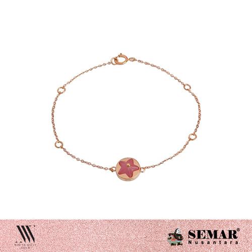 Foto Produk NIKITA WILLY GOLD BRACELET AMALFI COAST STAR MOTHER OF PEARL - Rosegold dari Semar Nusantara