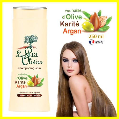 Foto Produk Hair Shampo Rambut Import Le Petit Olivier Olive Karite Argan 250 ml dari Iyesh Online Store
