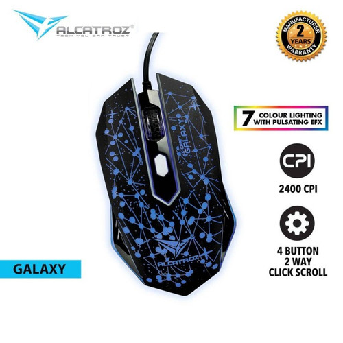 Foto Produk Alcatroz X-Craft Classic Galaxy Gaming Mouse dari manekistore