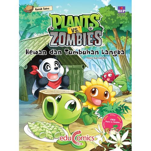 Jual Plants Vs Zombies Hewan Dan Tumbuhan Langka Kota Tangerang Selatan Beruang Buku Tokopedia