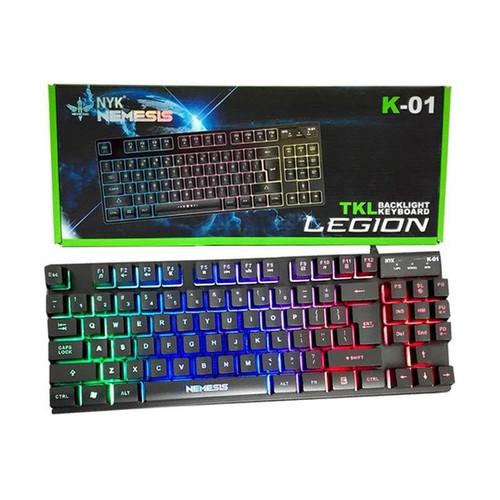 Foto Produk Keyboard NYK K01 K 01 Legion RGB Keyboard Gaming NYK dari PojokITcom Pusat IT Comp