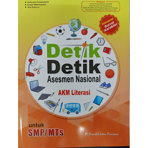 Foto Produk DETIK-2 ASESMEN NASIONAL AKM LITERASI SMP/MTS -UR dari Toko Buku Uranus