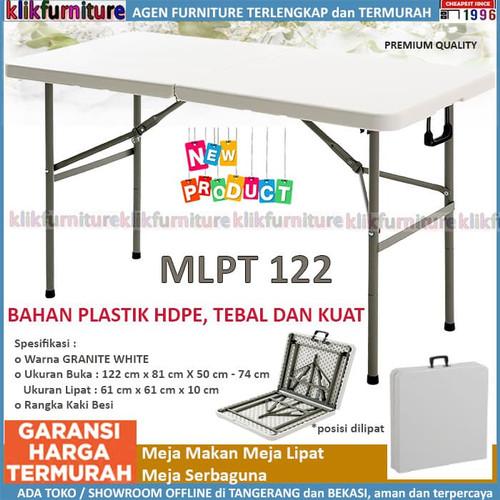 Foto Produk Meja Makan Lipat Kaki Besi MLA 122 SAPPORO BURSA dari klikfurniture