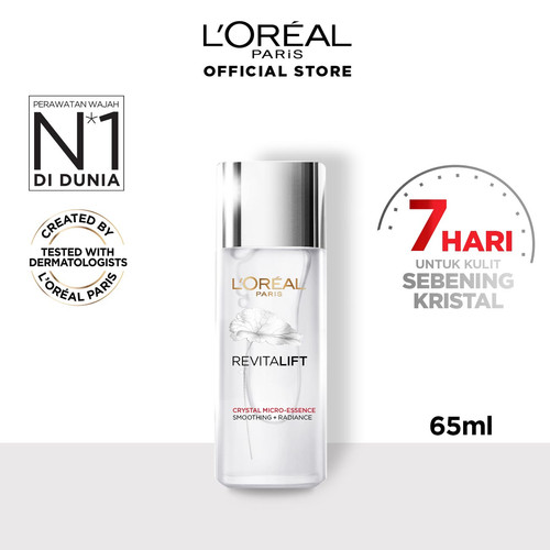 Foto Produk L'Oreal Paris Revitalift Crystal Micro Essence Skin Care - 65 ml dari L'oreal Paris