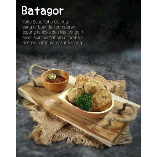 Foto Produk Batagor Ibrahim, Batagor Original Dengan Berbagai Macam Saos Isi 6 pcs dari MataLaki