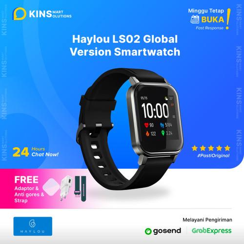 Foto Produk Haylou LS02 Smartwatch 1.4 inch TFT Screen Bluetooth Global Version - Anti Gores dari KINS Smart Solutions