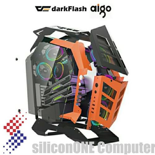Foto Produk AIGO KNIGHT K1 DARKFLASH ATX dari silicon ONE Computer