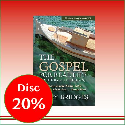 Foto Produk The Gospel For Real Life - Jerry Bridges dari CV Pionir Jaya