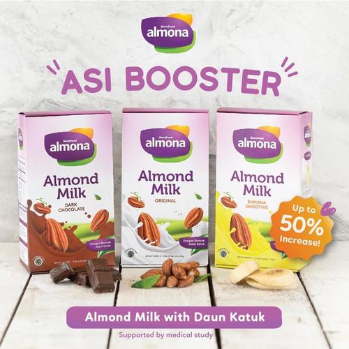 Foto Produk Paket 3 Box Susu Almond Milk Powder ASI BOOSTER ALMONA dari Pangan Bahagia