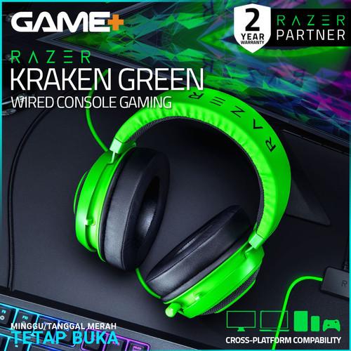Foto Produk Razer Kraken - Green Multi-Platform Wired Gaming Headset dari GamePlus