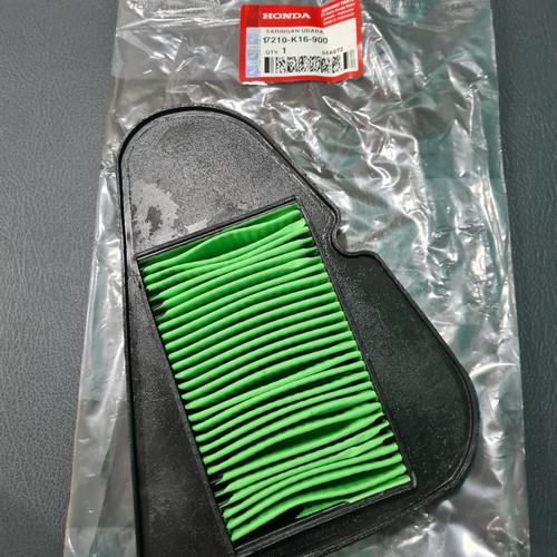 Foto Produk Filter Udara Saringan Hawa Honda Beat Fi Scoopy F1 Vario Cbs K16 dari Markas sparepart murah