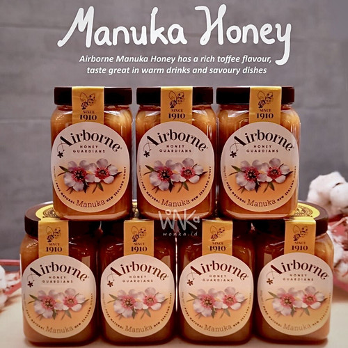 Foto Produk Airborne - Madu Manuka 500gr - New Zealand Honey - Antibiotik Alami dari wonka.id