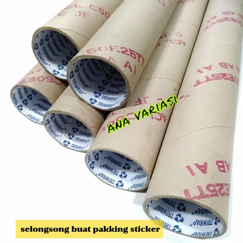 Foto Produk SELONGSONG PAPER CORE BOBIN CONES BUAT PAKKING STIKER SKOTLET TABUNG K dari trijaya_elektro