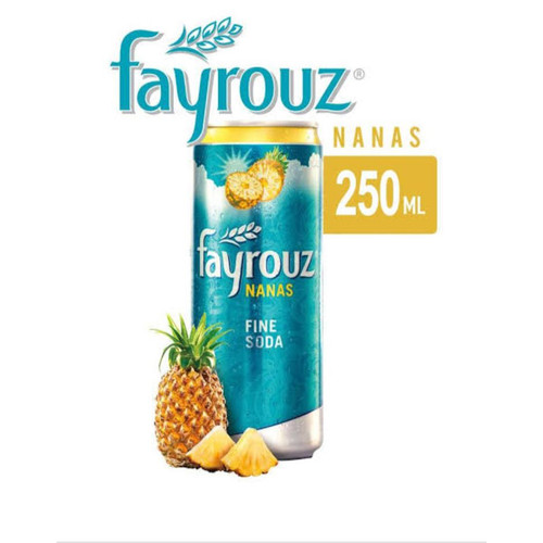 Foto Produk Minuman Fayrouz rasa nanas / 24 kaleng dari mamamertua