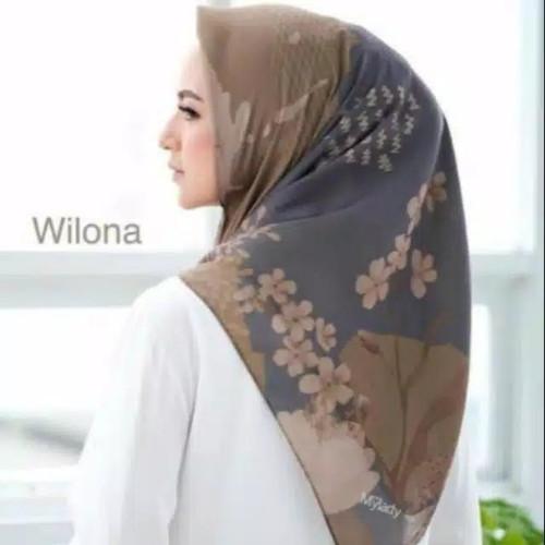Foto Produk HIJAB SEGI EMPAT MY LADY KW MOTIF WILONA KERUDUNG JILBAB TERBARU dari Lapak Baju Murah