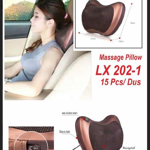 Foto Produk Bantal Pijat Portable Car and Home Massage Pilow 202-1 dari banjirorderan