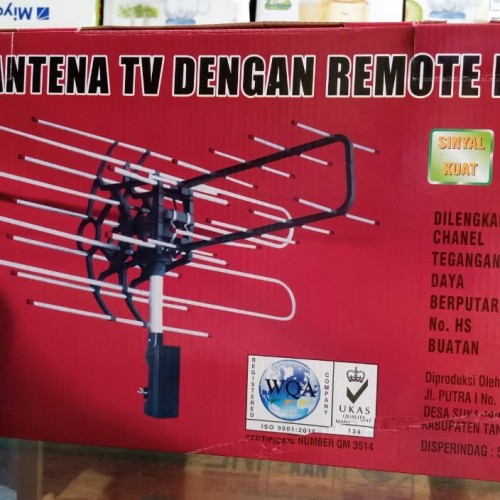 Foto Produk Antena TV Remot Sanex WA-850 TG dari KHS Electronic