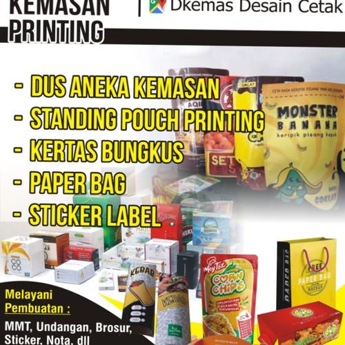 Desain Kemasan Pouch: Jual Cetak Kemasan Standing Pouch Uk 12x20cm Full Color