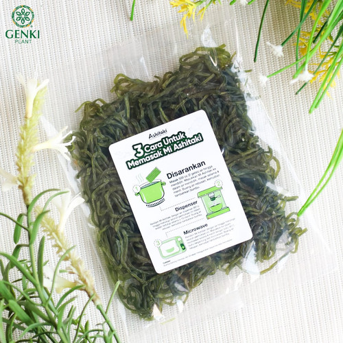 Foto Produk Dry Ashitaki (Ashitaba & Shirataki) - 63 g dari Genki Plant