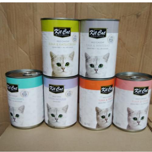 Foto Produk New!! Kit cat food kaleng 400 gr rasa baru dari B-Petshop