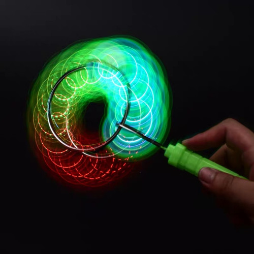 Foto Produk Yoyo LED Nyala Lampu Mainan Anak Flash Light Rolling Automation dari Zen Baby