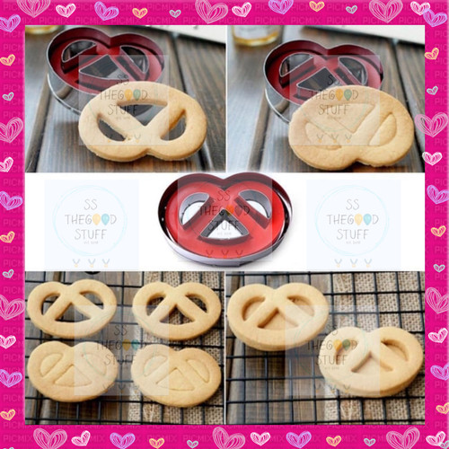 Foto Produk Cetakan Kue Kering Pretzel Butter Cookies / Cetakan Model Regal dari SS TheGoodStuff