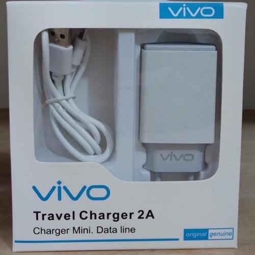 Foto Produk Travel charger vivo merek ori 99% 2.A REAL kwalitas baguss dari Happy_official