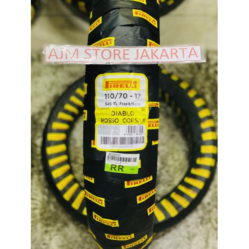 Foto Produk Pirelli Diablo Rosso Corsa 2 110/70-17 Tubeless.. dari AJM Store Jakarta