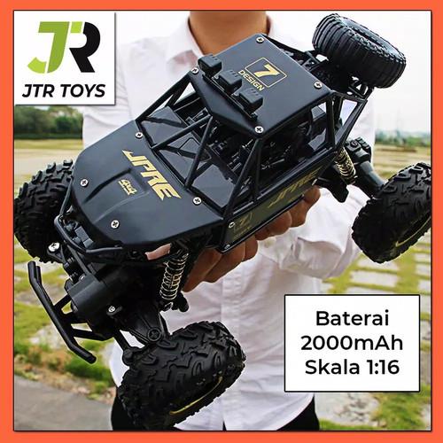 Jual Mobil Remot Rc Car Rock Crawler 1 16 Off Road 2 4ghz 4wd Jpre Hitam Kota Depok Toy Kid Tokopedia