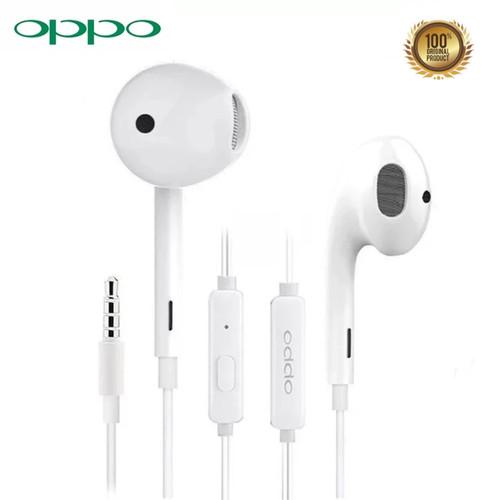 Foto Produk Handsfree Earphone Headset Oppo F11 Pro F9 F7 A5s A7 R15 Original Ori dari Promo Cellular