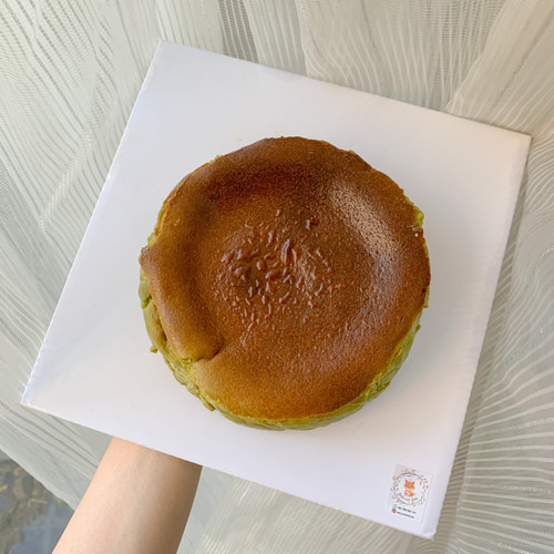 Jual Basque Burnt Cheesecake Matcha Kota Denpasar Belle And Roche Tokopedia