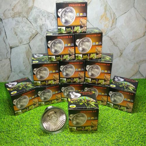 Foto Produk 25 w Lampu UVB UVA 3.0 Penghangat Reptile dari Hani Haura shop