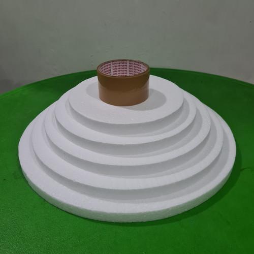 Foto Produk D30x2cm Gabus kue styrofoam dummy cake dari ken-z