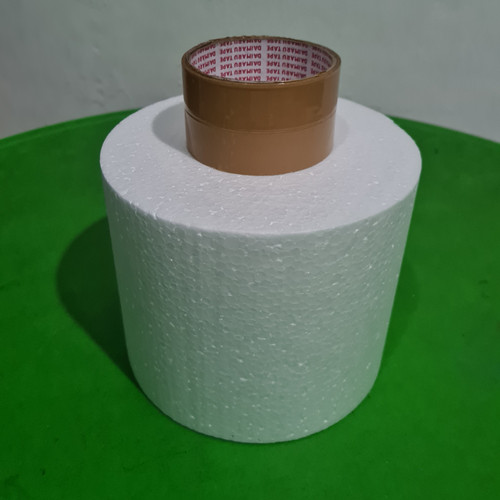 Foto Produk D18x15cm Gabus Styrofoam Bulat Dummy Cake dari ken-z