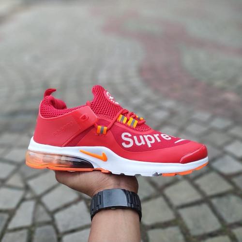 Australia daño Garantizar  Jual Sepatu nike presto supreme Sneakers Pria import - Merah, 40 - Kab.  Tangerang - Mhamet   Tokopedia