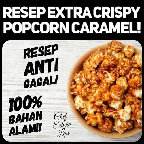 Jual Resep Extra Chrispy Popcorn Caramel Kota Tangerang On Diet Tokopedia