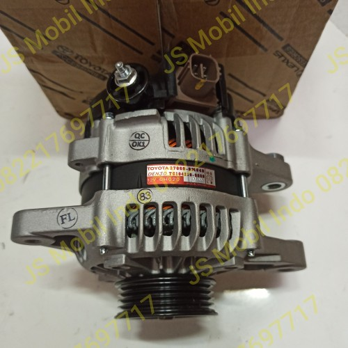 Foto Produk Alternator Yaris Vios Manual Matic 2006-2013 Original 27060-0M040 dari jaya makmur aksesoris