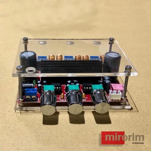 Foto Produk Box casing M139 power amplifier Class D 2.1 TPA3116D2 HIFI subwoofer dari mirorim