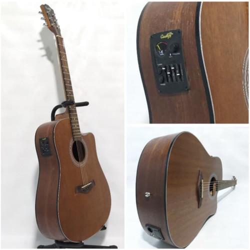 Foto Produk Gitar akustik elektrik string COWBOY GWC-240NS ORIGINAL TUNER dari Blaze Music