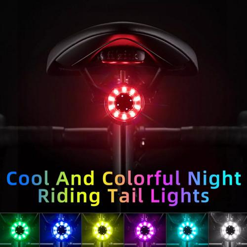 Foto Produk Lampu sepeda ROCKBROS Q1 Samurai colorfull dari Uwo Sports