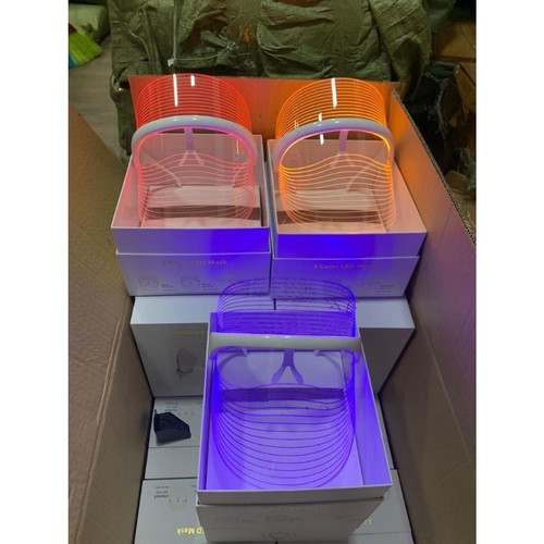 Faceshield Led 3D PhotoTheraphy Face Skin Care Repacking 3